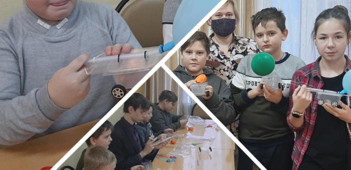 Саровские дети сделали себе инженерную игрушку